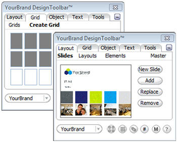 YourBrand Design Toolbar