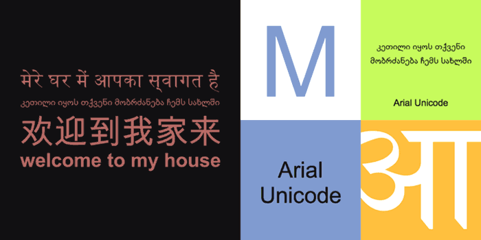 Arial Unicode is available on Fonts.com, or you may have it installed as part of Microsoft Windows
