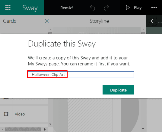 Duplicate this Sway window