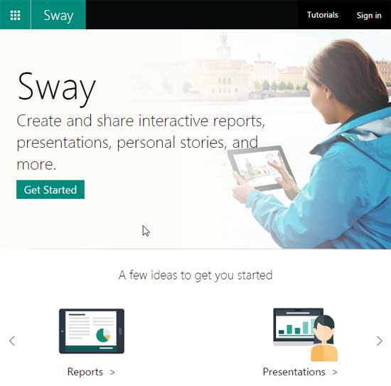 The Sway interface