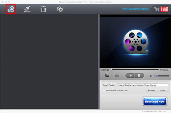MacX Video Converter Pro - You Tube Downloader window