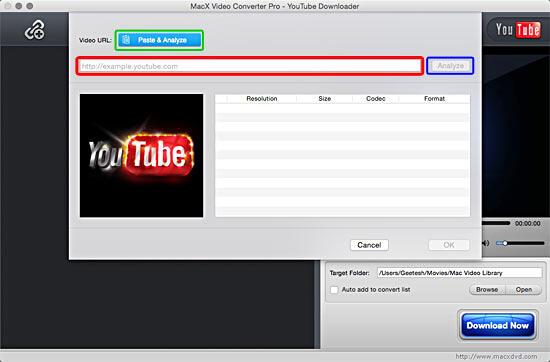 YouTube window